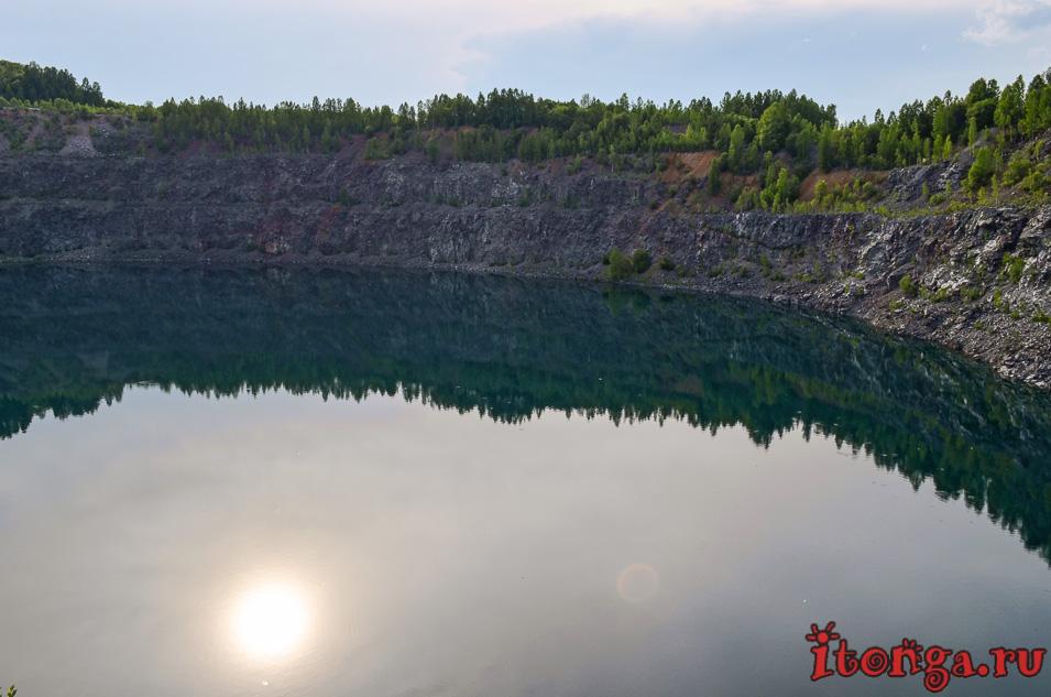дайвинг, голубые озера темиртау, кемеровская область
