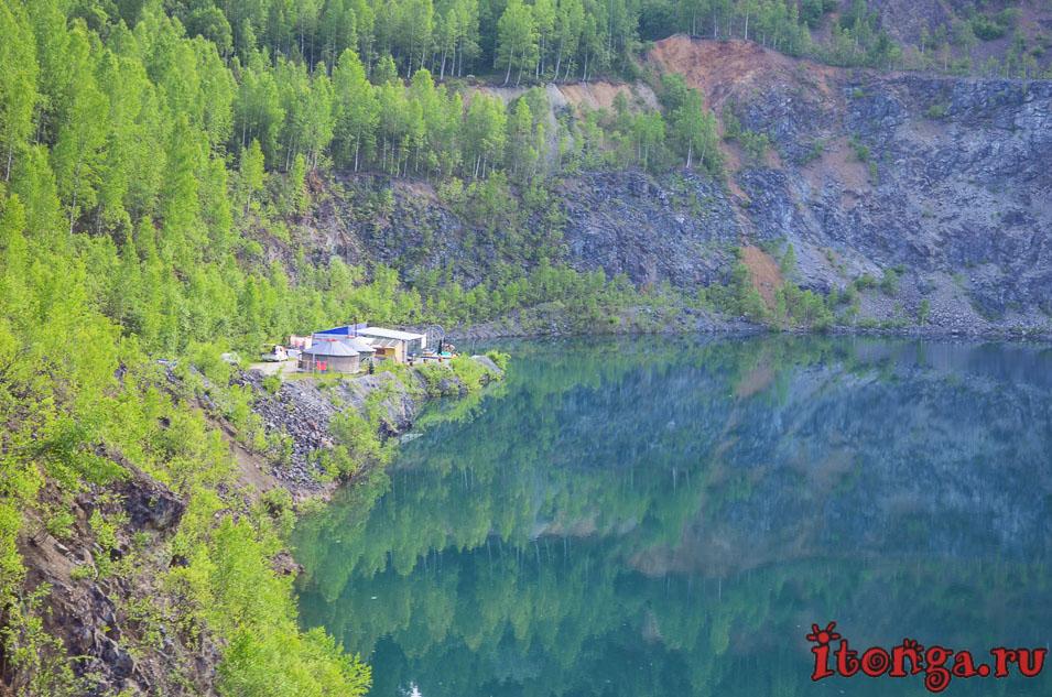 дайвинг, темиртау, голубое озеро