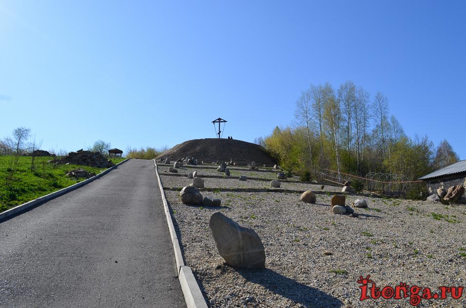 храм иоанна воина в новокузнецке, голгофа