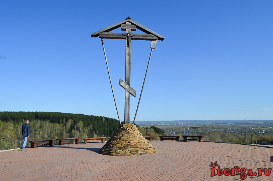 храм иоанна воина в новокузнецке, голгофа, крест