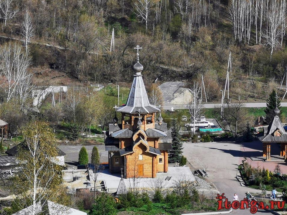деревянный храм, новокузнецк, колокольня