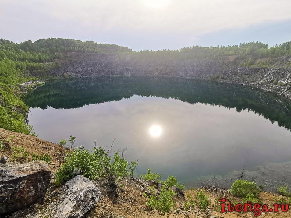 темиртау, дайвинг, голубое озеро