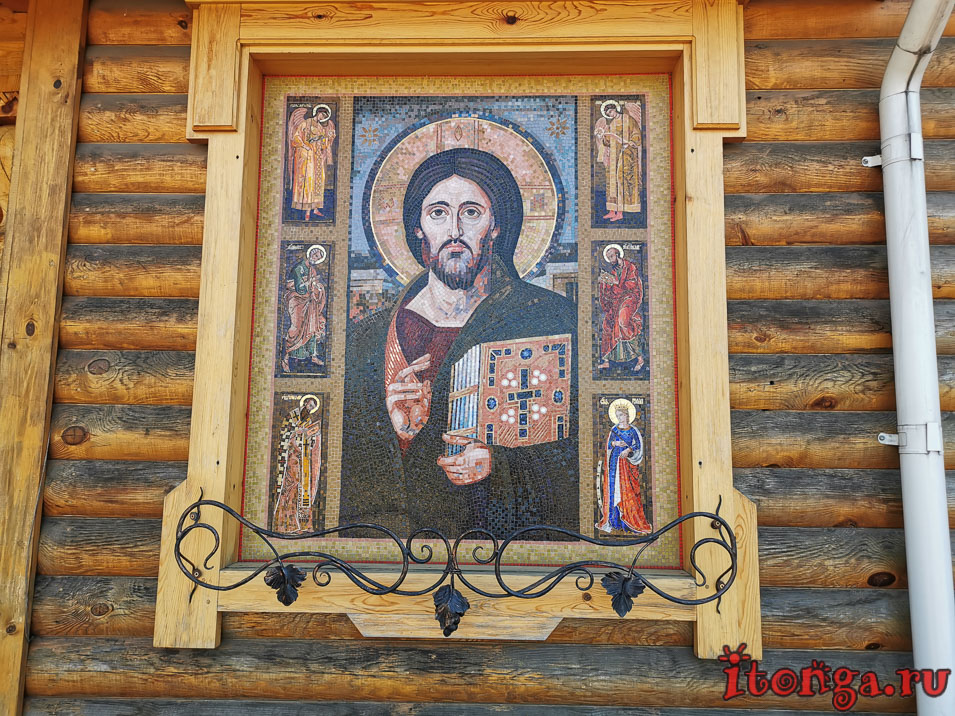 храм, церковь в абашево, новокузнецк